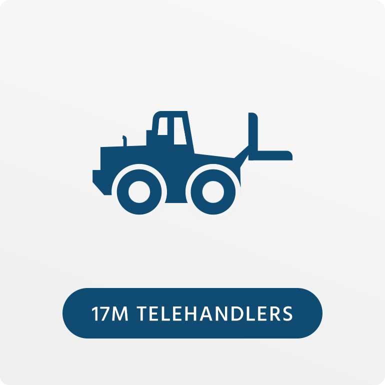 17 Meter Telehandlers