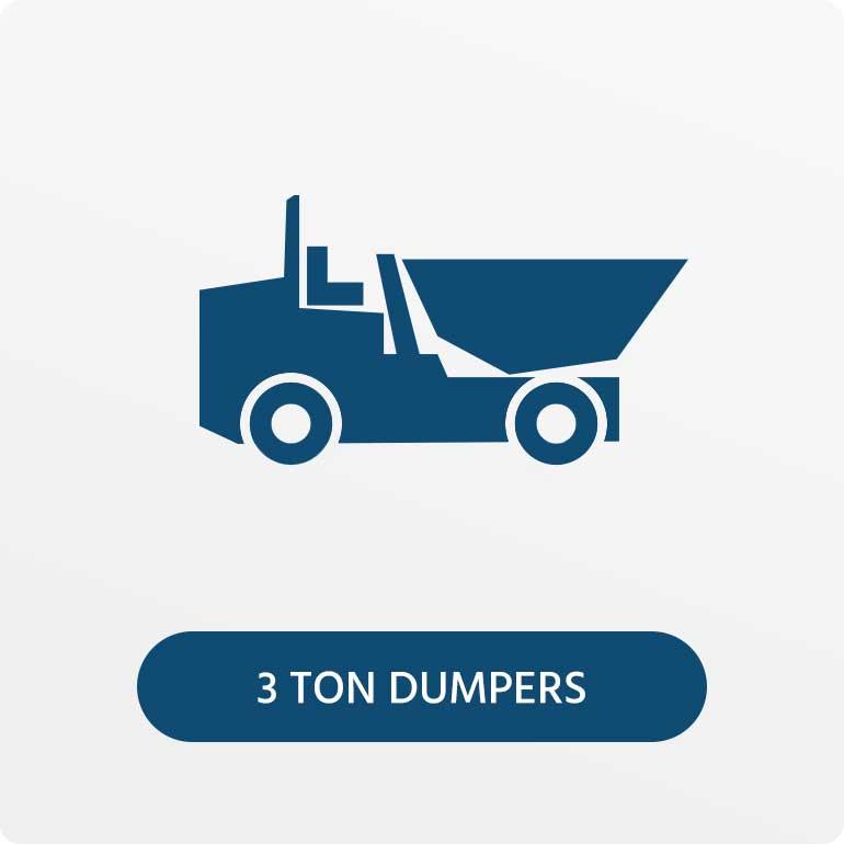 3 Ton Dumpers