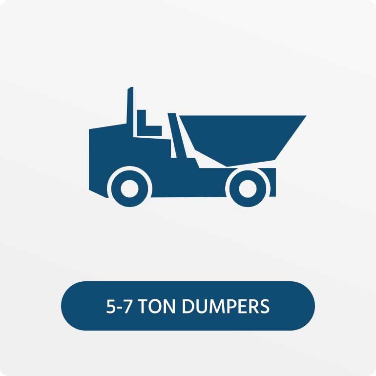5-7 Ton Dumpers