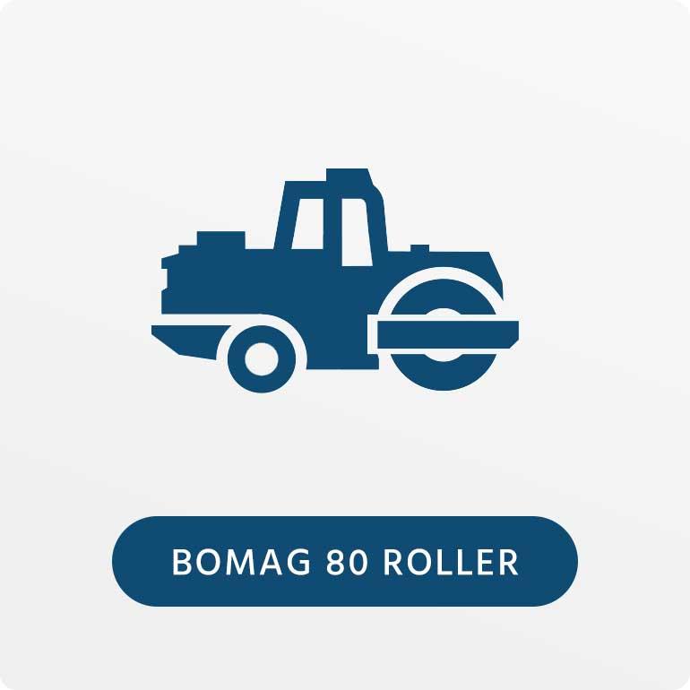 Bomag 80 Roller