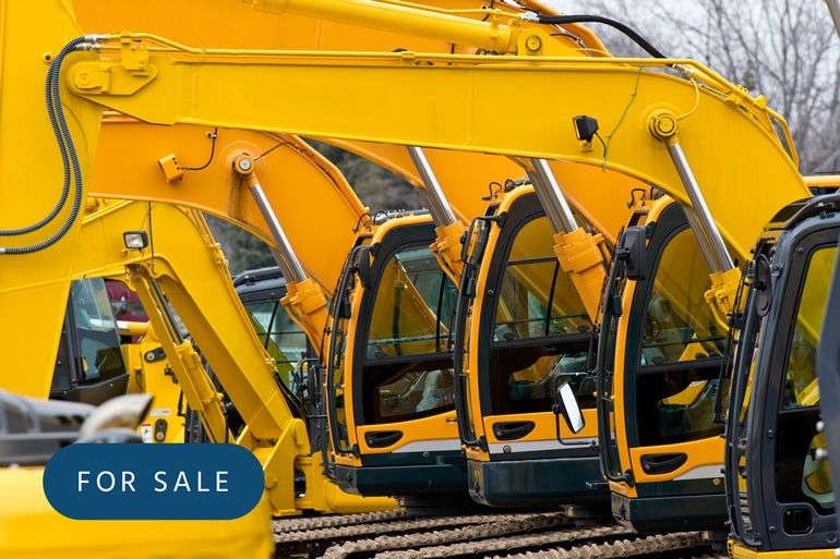 Take a look at the machinery and vehicles we have for sale
