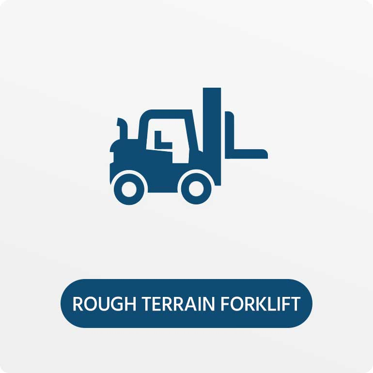 Rough Terrain Forklifts for Hire