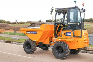 cabbed dumper