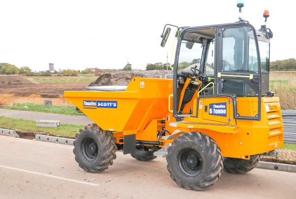 Cabbed Dumper - scottshire.co.uk