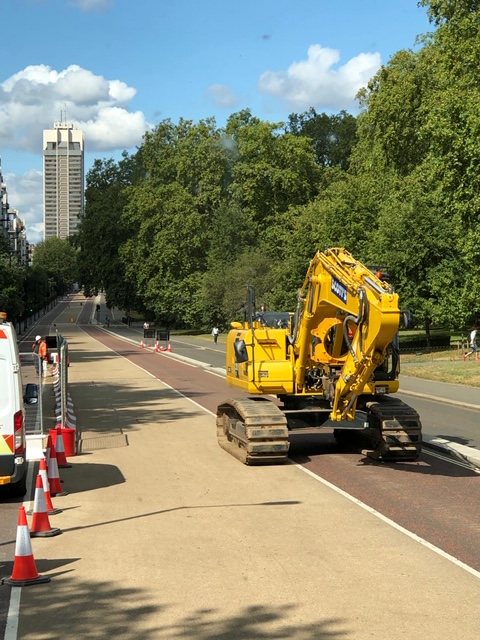 Scotts Hire Ltd in Hyde Park, London