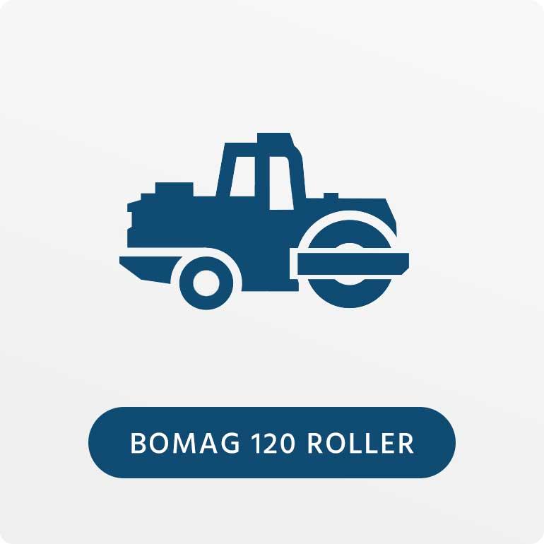 Bomag 120 Roller
