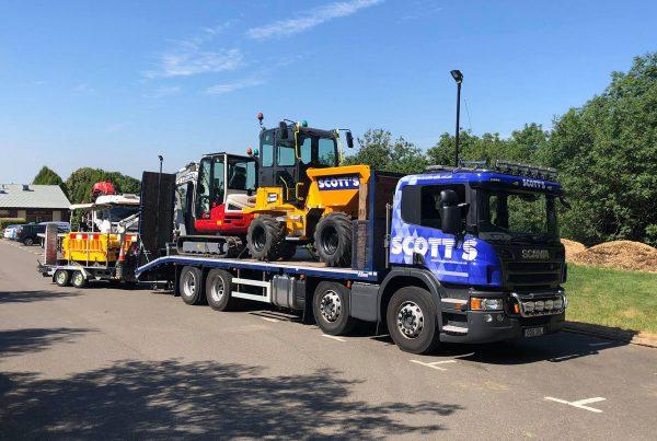 Scotts Hire Ltd Wagon - scottshire.co.uk